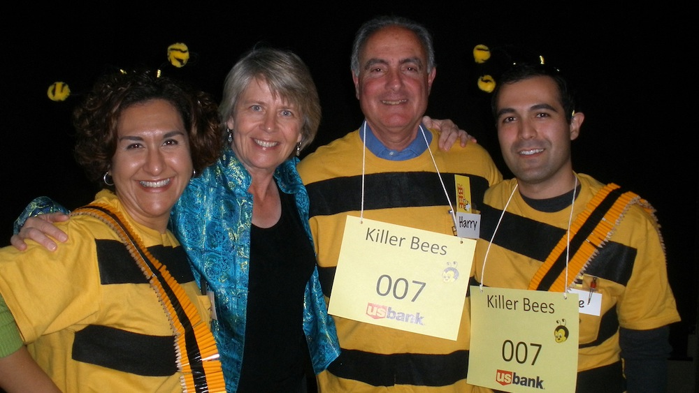 ... San Diego Council on Literacy's annual Adult Spelling Bee last night.